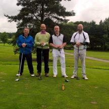 Longley concrete at British Precast Golf Day